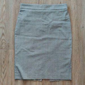 Necessary Objects | Grey pencil skirt